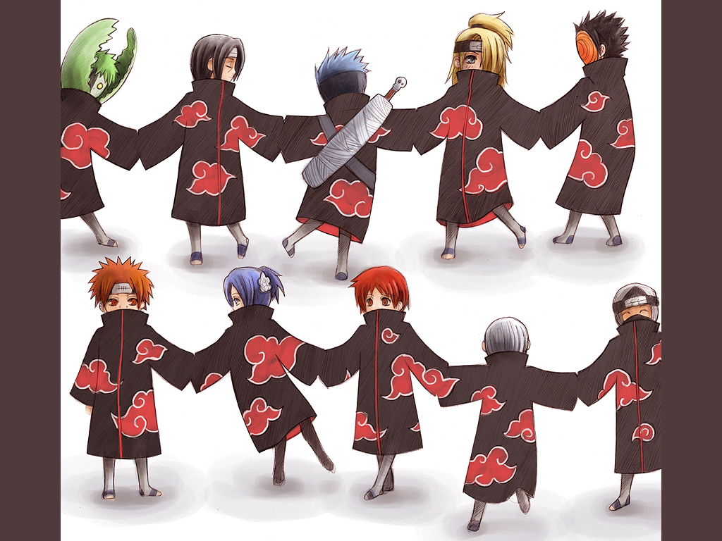 Akatsuki Dance wallpaper by Radittz