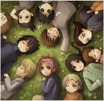 Naruto - Dreamers by Radittz