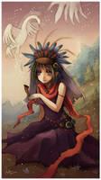 Kingfisher Girl by Radittz