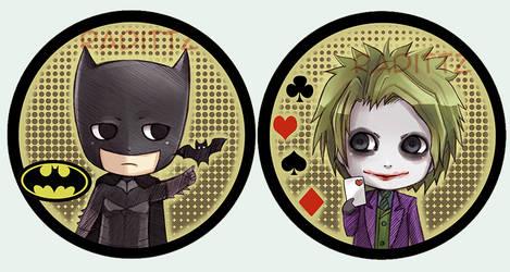 Batman Button set