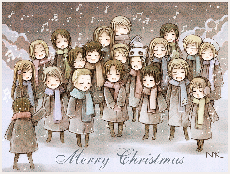 APH Silent night, holy night.. by Radittz