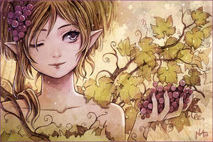 Grape Fairy by Radittz