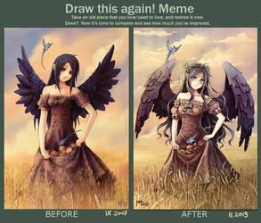 Draw This Again Meme by Radittz