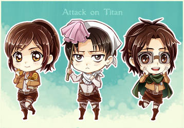 Attack on Titan II by Radittz