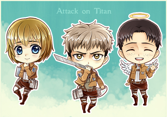 Attack on Titan III by Radittz