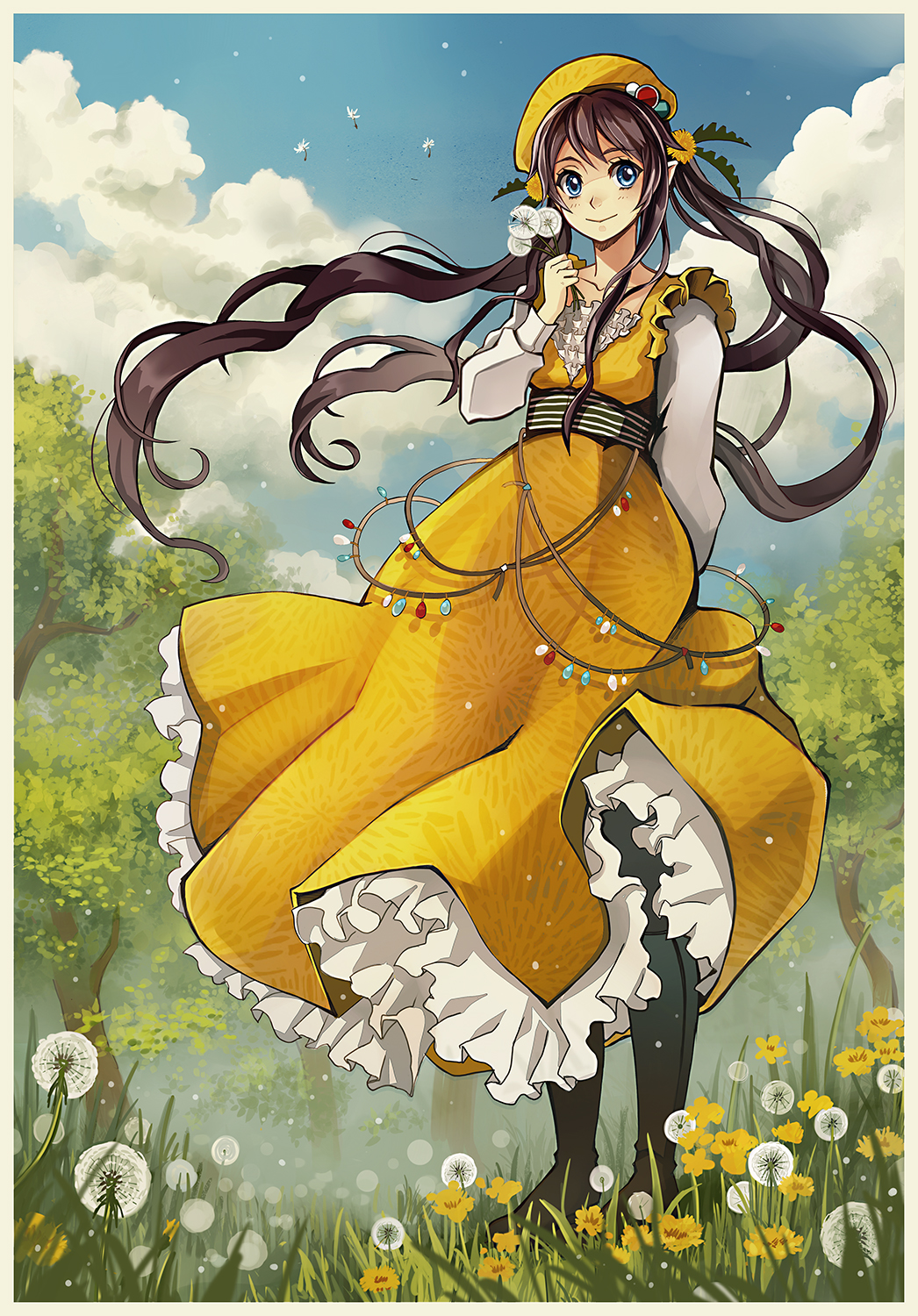 Dandelion dress by Radittz