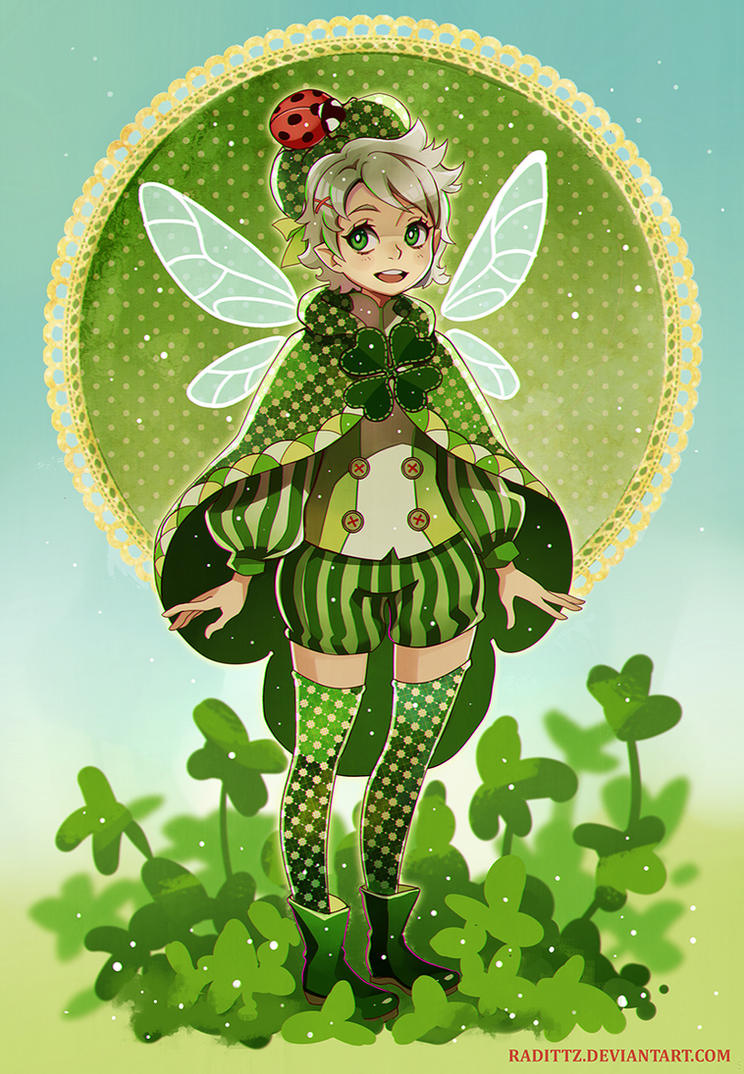 Lucky Clover by Radittz