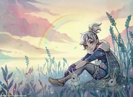 Rainbow Lake by Radittz