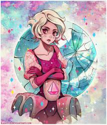 Pink Diamond by Radittz