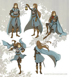 Cape Gestures by Radittz