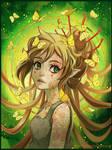 Green Nymph by Radittz