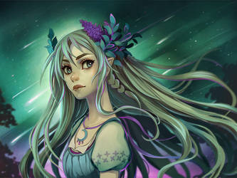 Lilac Witch by Radittz