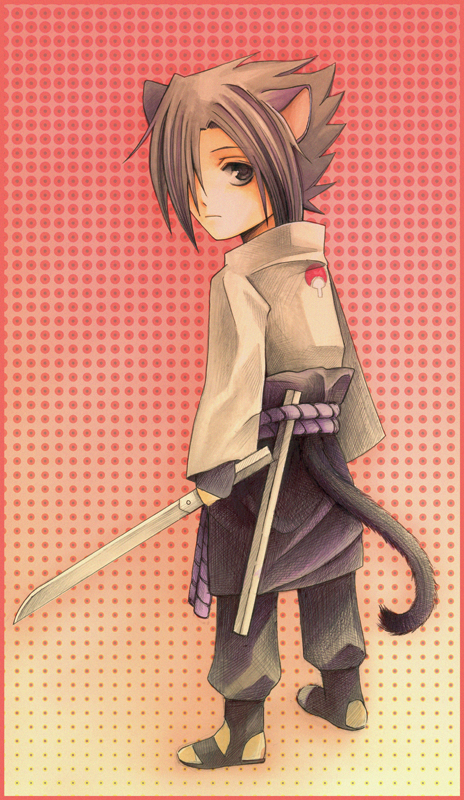 Kitty Shippuden Sasuke by Radittz