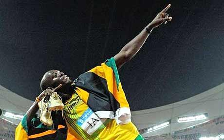 Usain Bolt by Izuss