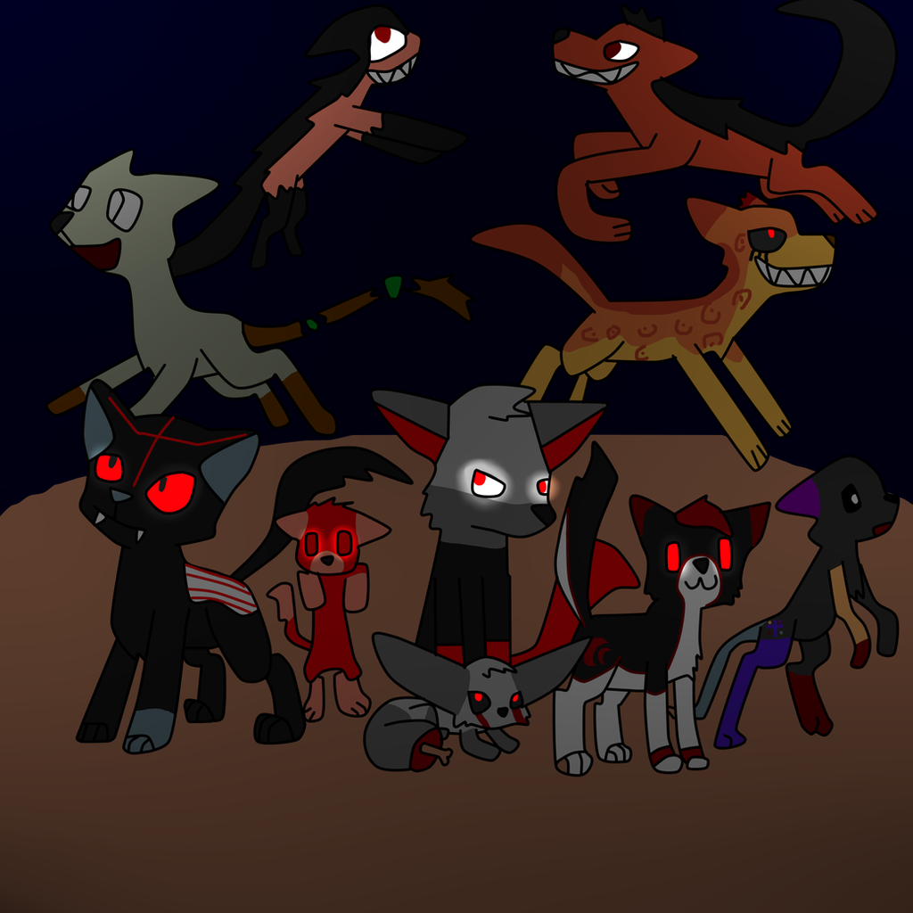 Creepypasta Animals By Topaz7373 On Deviantart