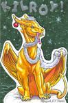 Christmas Kilroy Badge