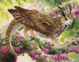 Patreon: Eagle Owl Gryphon Drake