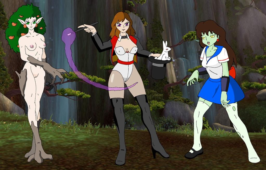 Magical Camp Battlers, B by Skyhammer