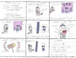Chibi Naruto randomness2 by AllySamaDammit