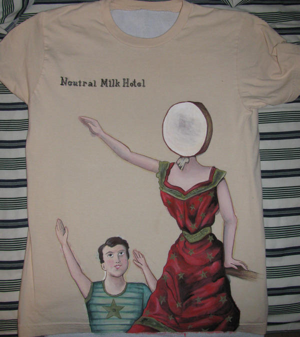 Neutral Milk Hotel Tshirt by antiaxelsora on DeviantArt