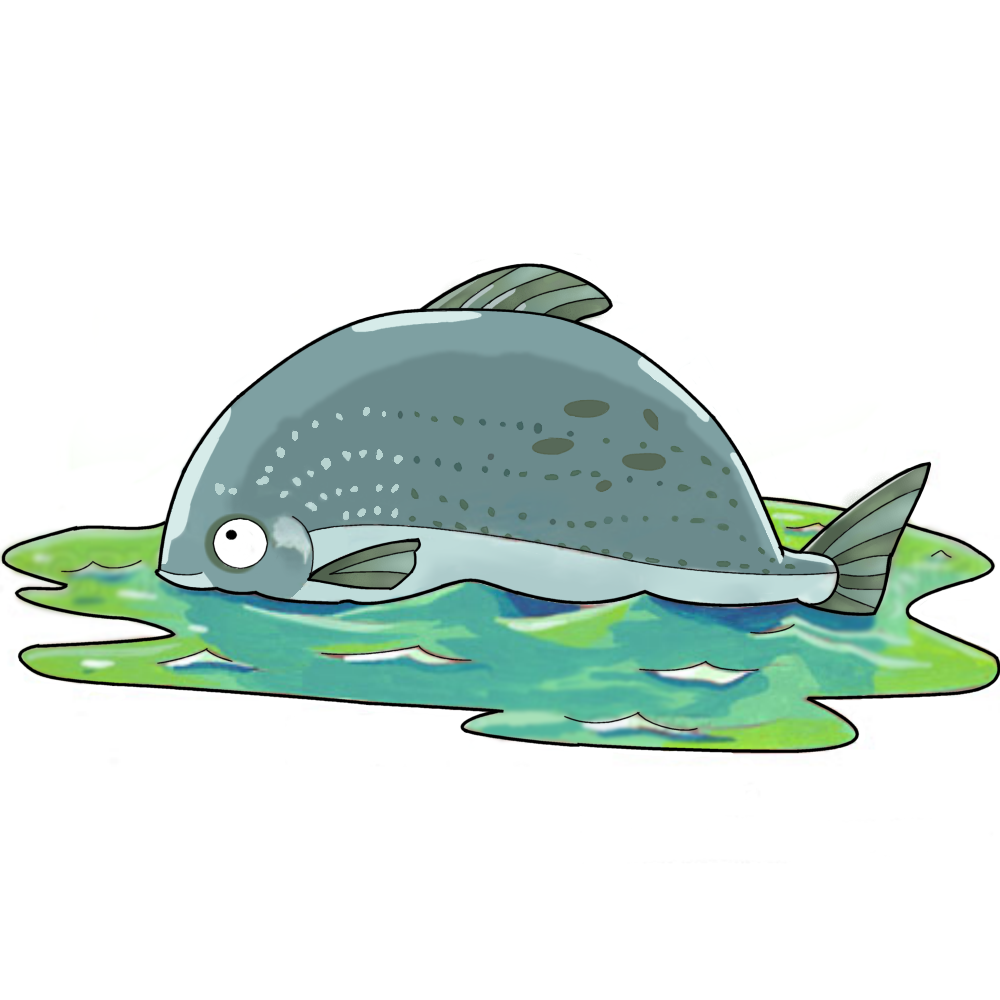 Big fish in a small pond by forevergeek on deviantart for Big pond fish
