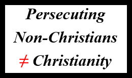 Non-Christian Persecution Stamp