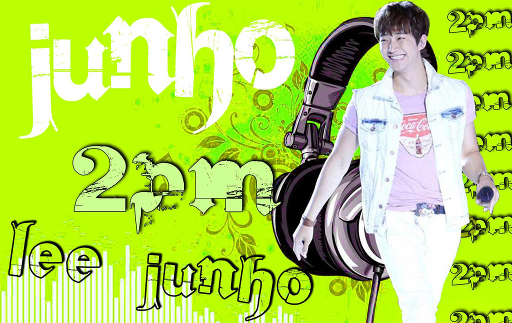 2pm Logo Wallpaper Wallpaper Lee Junho 2pm by