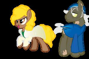 Viva Las Pegasus: Goldie and Mixer