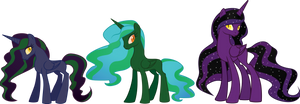 Fallout Equestria: Heroes-Alicorns by geekladd