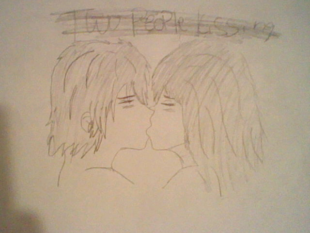 Two People Kissing Drawing | Auto Design Tech