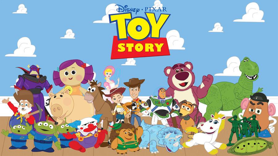Toy Story by momarkey on DeviantArt