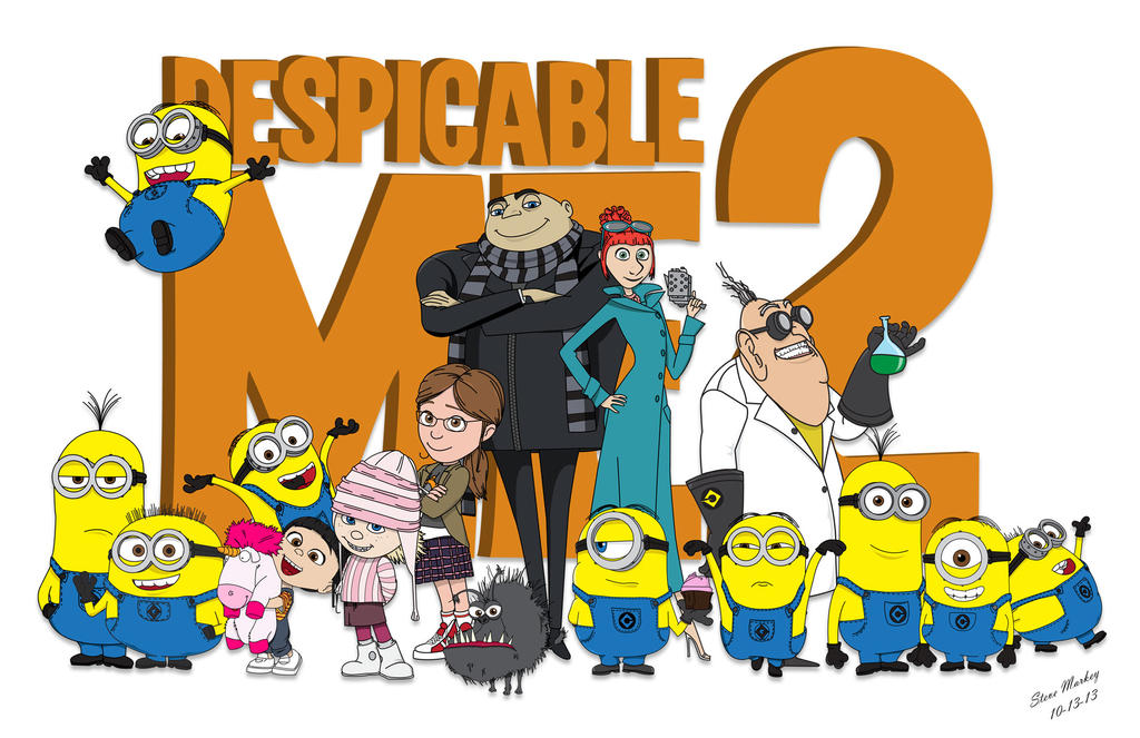 Despicable Me 2 by momarkey