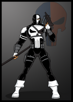 Punisher and Deathstroke by momarkey