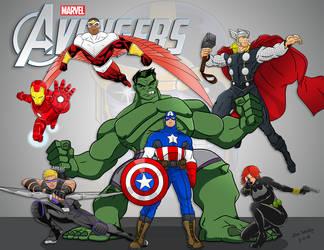 Avengers by momarkey