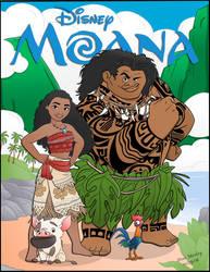 Moana by momarkey