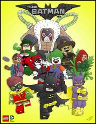 Lego Batman by momarkey