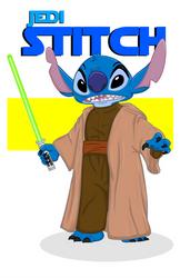 Jedi Stitch by momarkey