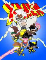 X-Men Coloring Practice