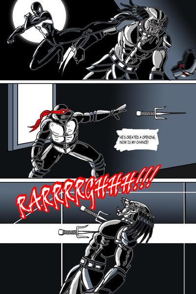 Ninja Turtle Predator and Spiderman 3 by Retro-Rockets on ...