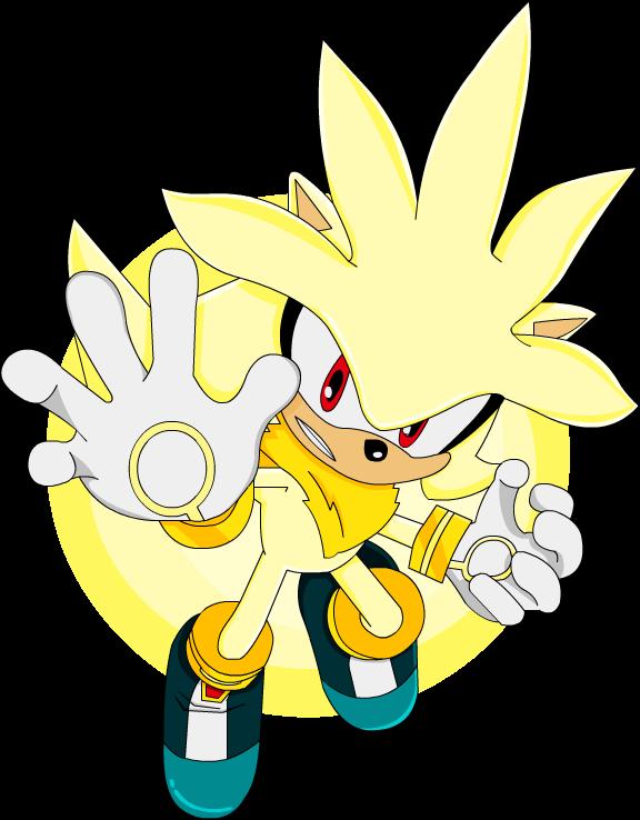 Dark Super Silver by JustASonicFan on DeviantArt |Super Sonic And Super Shadow And Super Silver Wallpaper