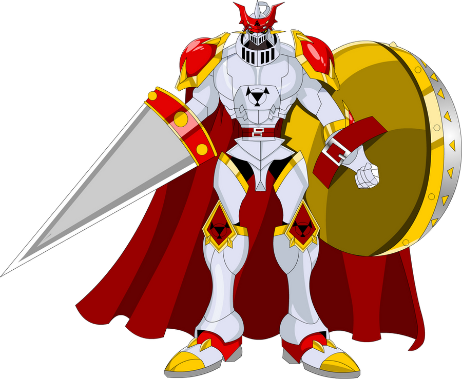Gallantmon or Dukemon by extremesonic101