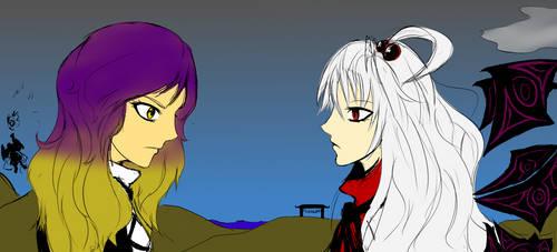 Shinki vs Byakuren [COLORED]