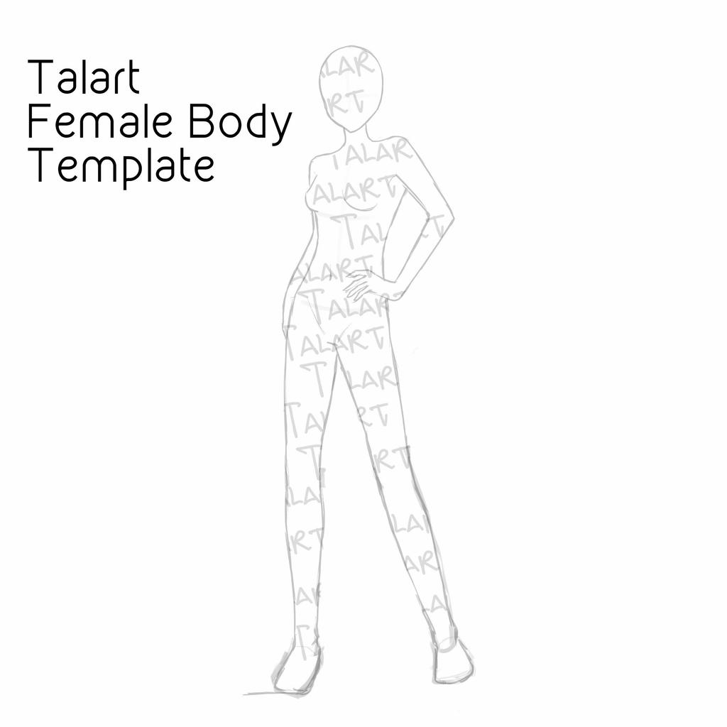 woman body template