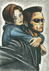 Protecting John Connor by Takineko