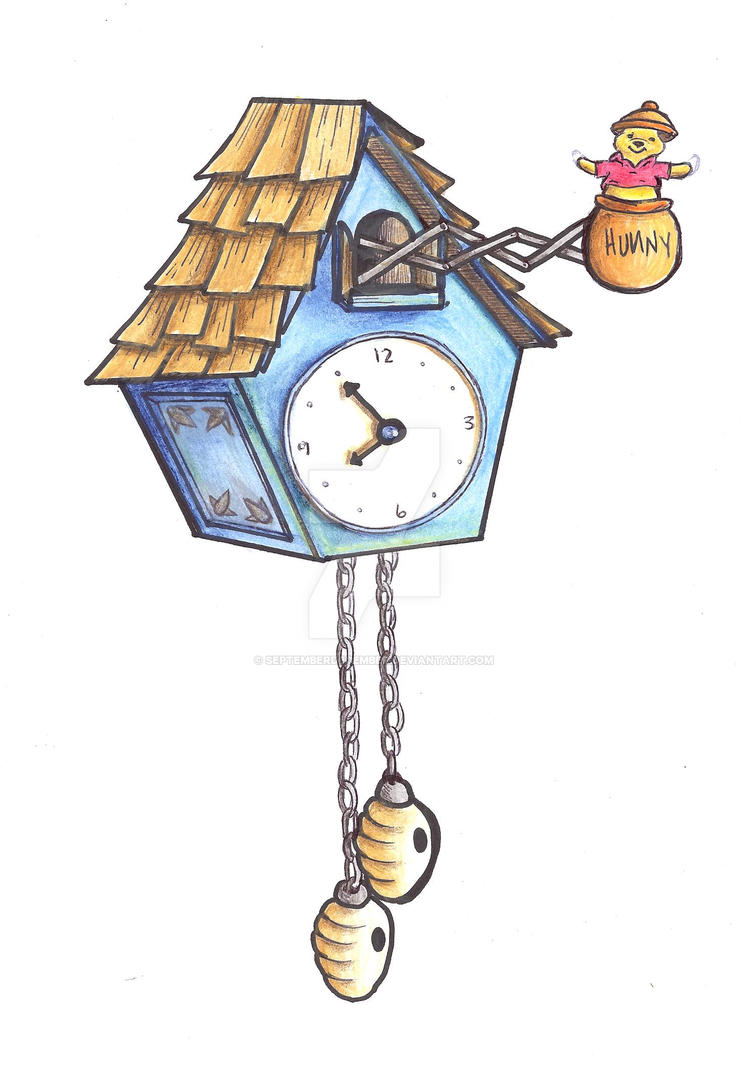 Pooh coo clock by septemberdecember on deviantart for Www coo