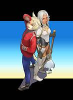 Satashi and Audessa by AuroraF