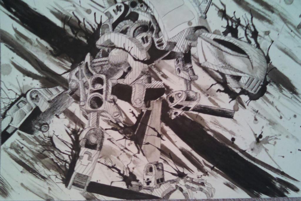 Pen and Ink by /u/demonMoru127 by r-BionicleLego