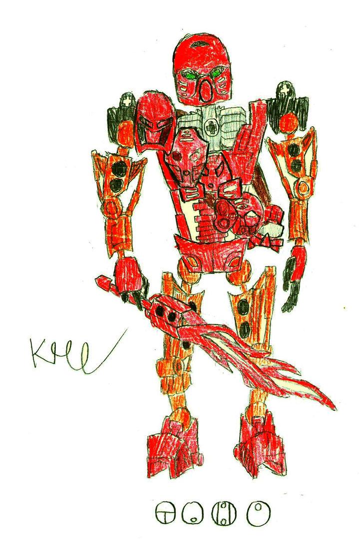 Tahu by /u/knux400 by r-BionicleLego