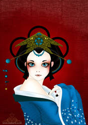 Geisha Doll by Bakarti