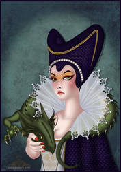Maleficent Doll by Bakarti